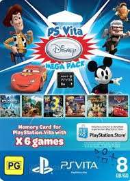 PS VITA DISNEY MEGA PACK DOWNLOAD CODE £9.99 @ GAMEPOINTSNOW