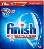 Finish All in 1 Powerball Dishwasher Tablets - 48 for £2 (4p each) @ Asda
