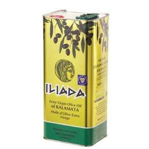 Iliada Extra Virgin Olive Oil Tin 5L - £10.99 @ Makro