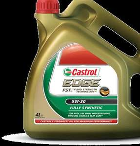 Castrol Edge FST 5W30 & 5W40 4L £23.98 engine oil @ Costco