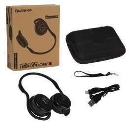 Bluetooth Wireless Headphones with Mic, Sports neckband & Free case £12.99 + £1.99 postage (was £24.99) @ 7dayshop