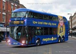 swansea to london from £6 @ megabus