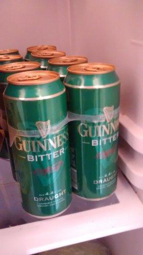 Guinness Draught Bitter 4 x 440ml £3.49 @ B&M