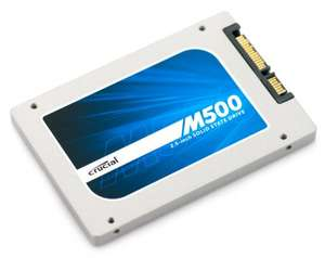 Crucial 240GB M500 SSD £81.99 @ Ebuyer