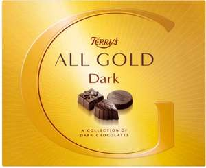 Terry's All Gold Dark Chocolates (400g) was £7.00 now £3.50 @ Tesco