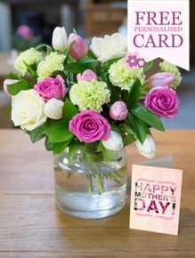 Free Mothers Day Weekened Delivery, Card and Chocolates with Selected Boquets until Wednesday at iFlorist