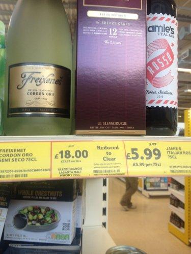 Glenmorangie Lasanta Malt Whisky £18 @ Tesco