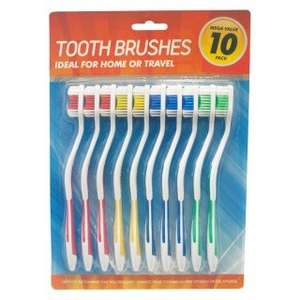 Delta Care toothbrushes 10 pack for £1 @ poundshop.com