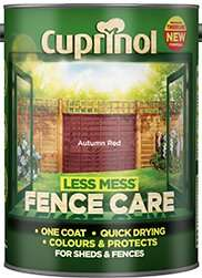 Cuprinol less mess fence care paint 5l @ Asda Direct
