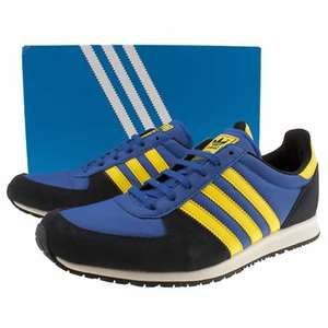 Mens Adidas Blue & Yellow Adistar Racer Trainers - Size 10 - LOW STOCK - £25 @ Branch 309