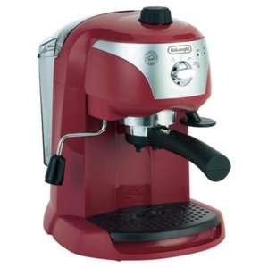 DeLonghi Motiovo EC220R Espresso Machine £89 with free Click & Collect @ Tesco Direct