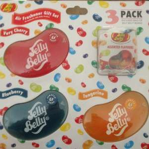 Jelly Belly In Car 3D Air freshener (3 Pack & a bag of jelly belly beans) £3 @ Asda