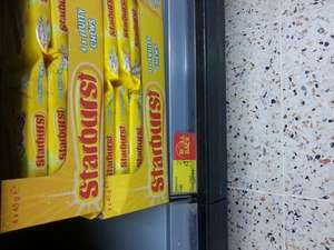Starburst and skittles 4 pack sweets £1 @ Asda