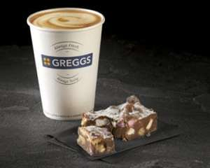 Greggs coffee and any cake £2