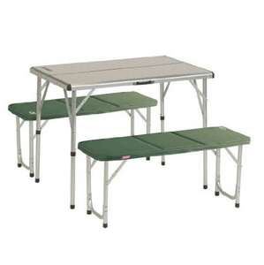 Coleman folding table & 2 X benches £59.98 @ Costco
