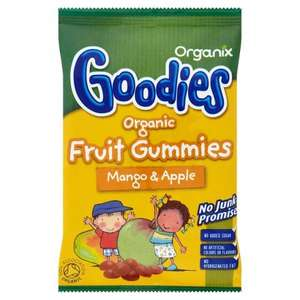 Organix Goodies Fruit gummies 12g @ Home bargains 10p