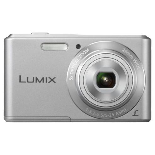 Panasonic Lumix DMC-F5EB-S Digital Camera Silver 14.1 MP 5x Optical Zoom - £39.00 @ Tesco Direct