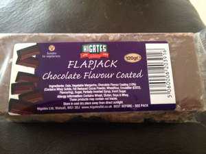 Higates flapjack 120g - 29p at home bargains