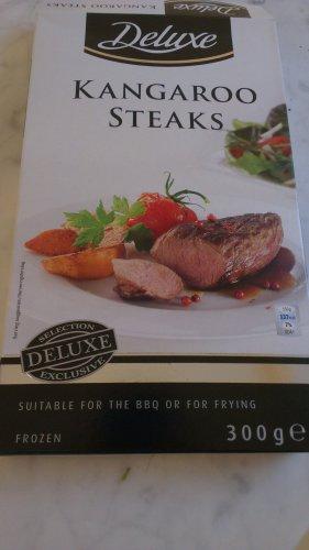 Kangaroo Steaks @ Lidl - £3.99