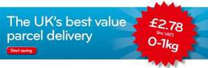 Myhermes 1kg service back on the 26th March  £2.78 inc VAT (up to 1kg)
