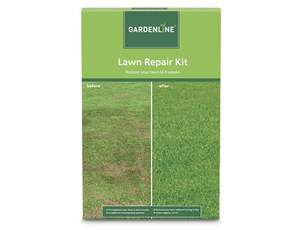 Aldi Lawn repair kit  25sqm £3.99 - Half the price of the big brands