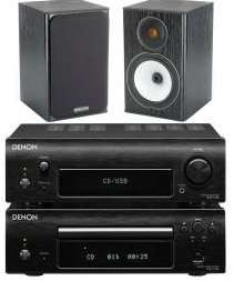 DENON DF109DABC & Monitor Audio BRONZE BX1 Speakers £349.95 @ richersounds