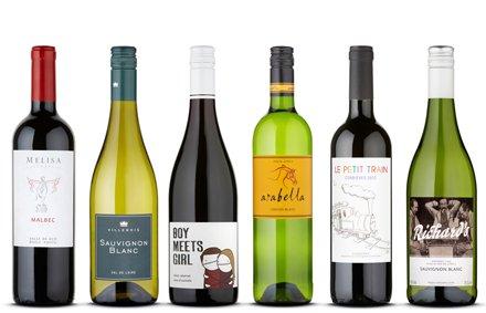 6 bottles of wine for £19.39 delivered at naked wines