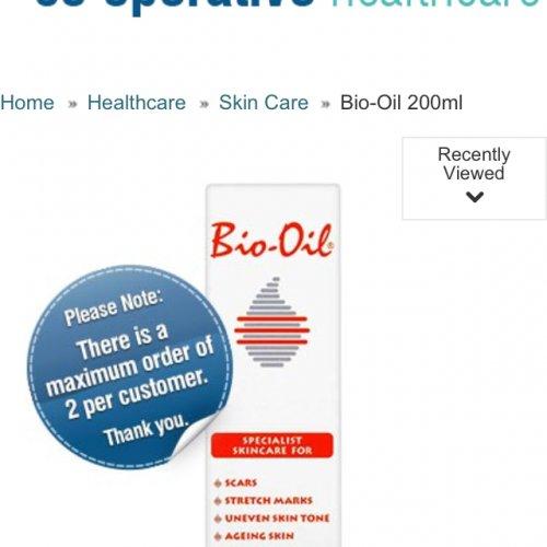 Bio Oil 200 mL £9.89 @ cooperative healthcare. Plus Spend £30 Get £5 Off - Code SAVE5.