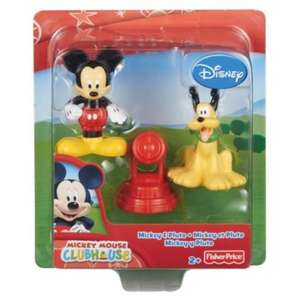 Mickey Mouse Save The Day Twin Figure Pack, £1.75 RRP £7, Tesco direct + free click and collect.