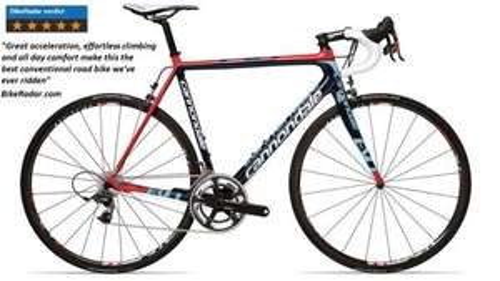 CANNONDALE SUPERSIX EVO HI MOD RED RACING 2013 £2999.99 @ Paulscycles