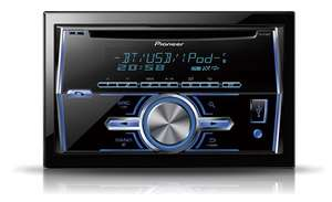 Pioneer FH-X700BT Double Din Car Stereo, Bluetooth iPod & Android Direct Control - ebay/dynamicsounds £119.90
