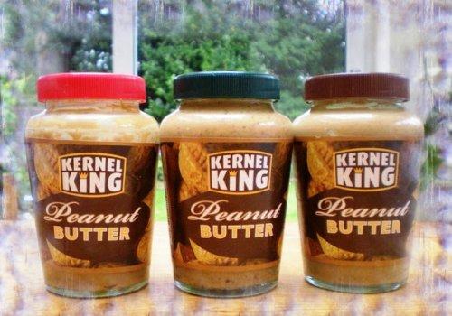 Kernel King 340g peanut butter 59p @ b&m