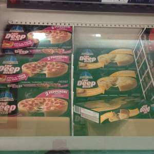 Chicago town deep dish pizzas (all flavours) £1 farmfoods