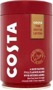 Costa Roast & Ground Coffee 250g: £3 (was £4.19) @Tesco