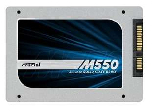 Crucial M550 SATA III 1TB SSD  £389.98 or £369.98 with coupon @ dabs.com