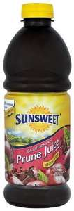 Asda Sunsweet Californian Pure Prune Juice 1L £2.29 or 3 for £3
