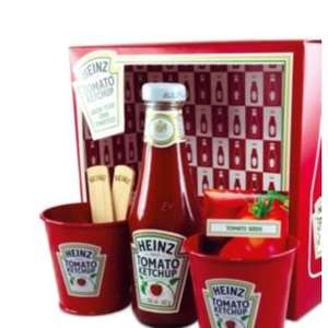 Heinz Tomato Ketchup Grow Your Own Gift Set @ Argos £4.99 rom £11.99