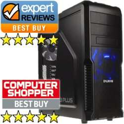 'Gaming PC' i5 4670k, 270x,1tb,8gb ram, 60gb SSD 5* reviews £650 @ Palicomp