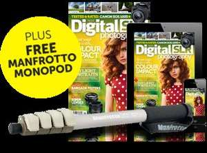 Digital SLR Photography Magazine £5.00 for 5 issues with free Manfrotto MMC3-02 compact monopod worth £20