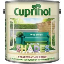 Cuprinol Garden Shades at Wilkinson, 2.5Lt  £15.00