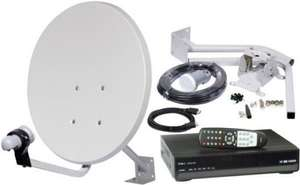 FREESAT TO AIR SATELLITE KIT, HD RECEIVER, 45CM DISH & FULL INSTALL KIT delivered FREE £44.75 from ebay!/bunwells
