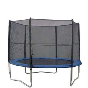 Safety netting for trampoline 10FT 6poles--PE protective safety enclosure  sold by bpsltduk @ amazon.co.uk £28.18