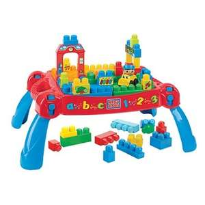 Megabloks 3 in 1 First Builders Build n Learn Table £16.97 @ asda direct Free store collection