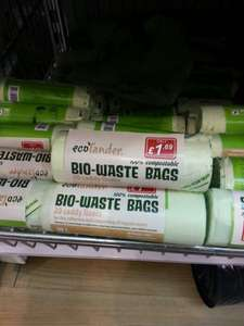 Ecolander Compostable Caddy Bags £1.69 @ Poundstretcher
