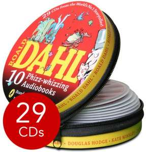 Roald Dahl Audio Collection in Tin (29 CDs) now £18 delivered at The Book People