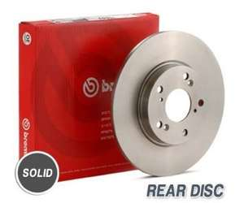 Brembo Rear Discs (Mazda 323/MX-5) £17.23 @ Amazon (free del)