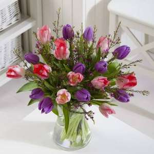 Mother's Day Mixed Tulips - flowers by post (+ Free Delivery) £16.50 @ ASDA Flowers