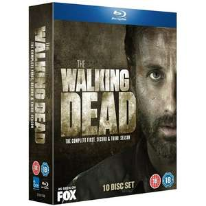 The Walking Dead: Season 1 - 3 Box Set (10 Discs) (Blu-ray) Delivered £32.25 @ Amazon