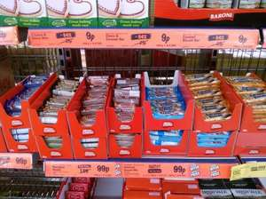Lidl versions of popular choc bars 9p