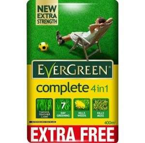 Evergreen Complete 4 in 1 400m2 £14.99 from Rightway Stores